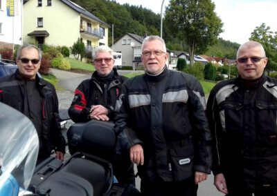 Gruppenfoto Biker